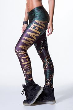 Skull Jungle Legging – Labellamafia Clothing
