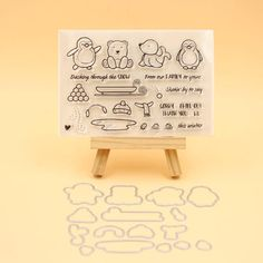 New Transparent Silicone Clear Rubber Stamp Scrapbooking Diy Cute Pattern Photo Album Paper Card Decor Bathing Girl Stamp Making Things Convenient For Customers Parts & Accessories