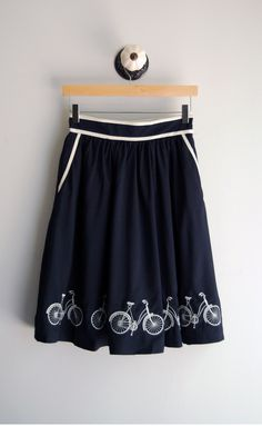 Bicycle Skirt from Winsome Jones