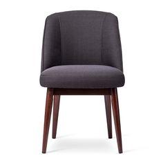 threshold modern anywhere chair - graphite: $160