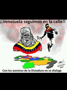 Un mensaje para los autoconvocados y los notables del diálogo VENEZUELA SEGUIMOS EN LA CALLE !!!!