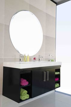 An over-sized basin is ideal for a family bathroom, consider one that allows for two taps to be fitted Bathroom Basin, Family Bathroom, Color Pop, Colour, Beautiful Bathrooms, House Colors, Countertops, Interior Decorating, Basins