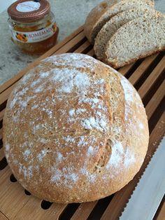 Pão de trigo hidratado