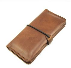 Handmade Leather Wallet for Men, Purse, iPhone 5/4s Wallet, iPod touch 5/4 Case, Leather  iPhone Cover, Phone Case