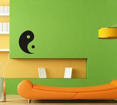 Wall Decor Vinyl Decal Sticker  YIN YANG SYMBOL DA560 #Stickalz
