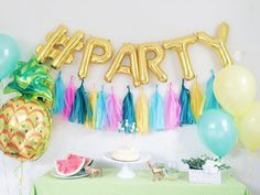 instagram balloons | by oh shiny paper co | 7 Fun Ways to Use Giant Letter Balloons