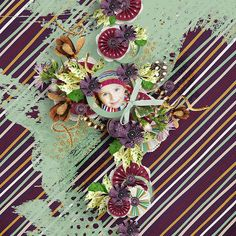 Mini kit Perfect You by WendyP http://www.digitalscrapbookingstudio.com/store/trick-or-treat-c-582/