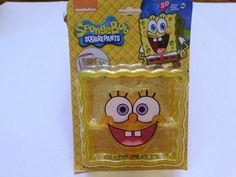 Nickelodeon SPONGEBOB Crust Cutter Sandwich Imprints Face Easter Basket Filler #Nickelodean