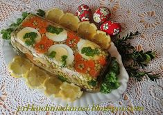 galareta z drobiu Hot Dog Buns, Hot Dogs, Polish Recipes, Avocado Toast, Bread, Chicken, Breakfast, Food, Festive