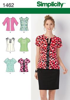 Simplicity 1462 Top Sewing Pattern