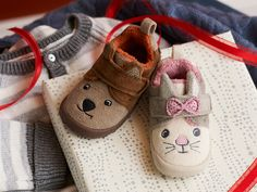 Clarks Holiday 2013 | #kids | #slippers | #holiday | #giftideas