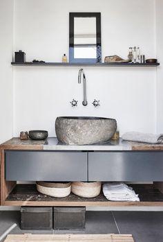 COCOON modern bathroom inspiration bycocoon.com | inox stainless steel bathroom taps | bathroom design products | renovations | interior design | villa design | hotel design | Dutch Designer Brand COCOON