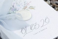 Order of the Day Wedding program. Order Of The Day Wedding, Wedding Day, Name Cards, Thank You Cards, Wedding Programs, Wedding Favors, Calligraphy Envelope, Sealing Wax, Seed Paper