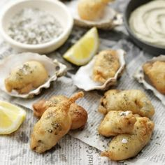 Recipe - Oyster Fritters With Seaweed Mayonnaise