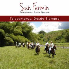 ¡Con #TuSillaSanFermin vives más cada momento! Talabarteria San Fermin #Colombia #SillasyMonturas #Caballistas