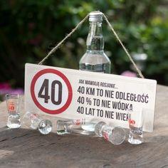 """*Spodlady*++Tabliczka++""""40+lat+to+nie+wiek...""""+w+Spodlady+na+DaWanda.com"""