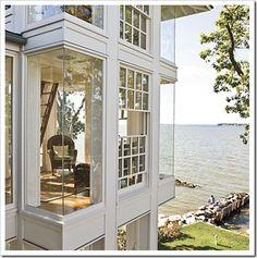 Big beachfront home