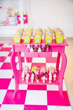 Ice Cream Shoppe 3rd Birthday party via kara's party ideas karaspartyideas.com