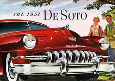 The 1951 De Soto. #vintage #1950s #cars
