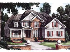 Eplans Traditional House Plan - Beautiful Vaulted Bath - 2727 Square Feet and 4 Bedrooms from Eplans - House Plan Code HWEPL09043