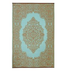 """Ein modern interpretierter Orientteppich soll es sein? Dann ist der Outdoor-Teppich """"Istanbul"""" perfekt. Er bringt mit seinem Muster orientalisches Flair auf Ihren Balkon, den Garten oder auf die Terrasse und die frischen Farben sorgen..."""