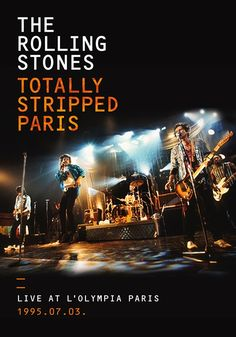 CDJapan : Totally Stripped - Live at L'olympia Paris 1995.07.03 [Regular Edition] The Rolling Stones DVD