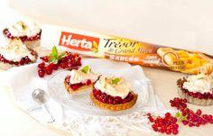 Tartelettes meringuées aux groseilles. La recette : https://www.facebook.com/herta.fr/photos/a.262257127225424.56499.250368165080987/601990033252130/?type=1&theater