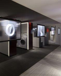 BSH Brand Center (Bosch, Siemens, Gaggenau, Neff), Belgium Concept & design by Creneau International - www.creneau.com