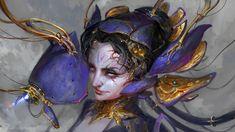 ArtStation - Warframe - Lotus, Daniel Kamarudin