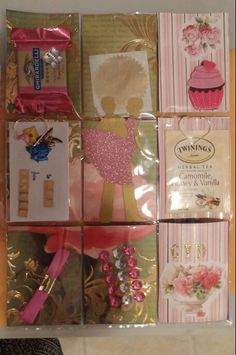 Pretty in pink and gold PL