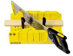 Miter Saws How To: Use a Miter Box - For DIYers less inclined to work with power tools, knowing how to use a miter box is a skill that in smaller woodworking projects, proves its value over and over again. Beginner Woodworking Projects, Woodworking Tips, Sketchup Woodworking, Popular Woodworking, Window Privacy Screen, Gallery Wall Shelves, Miter Saw, My New Room, Home Projects