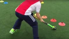 Individual drills: A ball handling and fitness drill to do on your own :http://www.ahockeyworld.net/individual-drills-a-ball-handling/