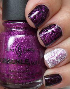 I want crackle polish!!