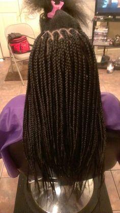 Rilbraidz Braidery Medium box braids #mybraids#mywork#onlyatRilbraidz