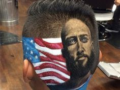 World Cup 2014: Young USA fan gets Tim Howard's face cut into his hair - World Cup 2014 - Football - The Independent
