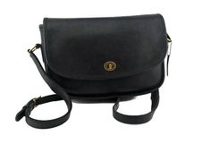 4f156be42d645 Vintage Coach Classic City Bag Crossbody Style No. 9790 in Black