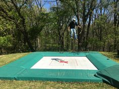 Best off water training tool IMO. The 14x14 Max Air Trampoline