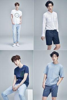 Ahn Jae Hyun and Ji Soo are the perfect summer boyfriends for 'Chris Christy'… Korean Boys Hot, Korean Men, Asian Men, Korean Summer Outfits, Designer Casual Shirts, Ahn Jae Hyun, Cute Asian Guys, Korean Fashion Men, Fashion Poses