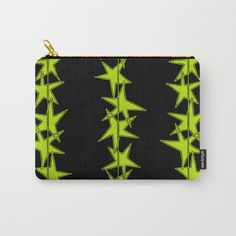 Buy Strings of Stars - Black and Green Carry-All Pouch by laec. Worldwide shipping available at Society6.com. Just one of millions of high quality products available.