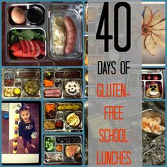 40 Days of Gluten Free School Lunches http://thepaleomama.com/2013/08/40daysofglutenfreelunche/