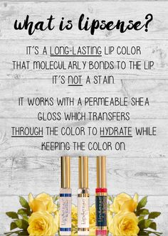 What is LipSense?