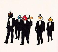 Angry Reservoir Birds