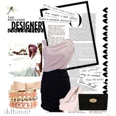 Pink Calm by esthii on Polyvore