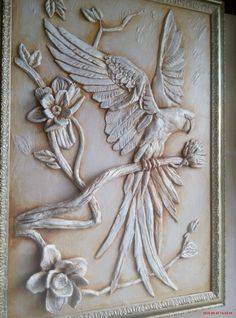 Impressive Clay Relief Carving Animals Techniques Photos - - in 2019 Clay Wall Art, Ceramic Wall Art, Mural Wall Art, Tile Art, Clay Art, Sculpture Painting, Sculpture Clay, Wall Sculptures, Wood Carving Art