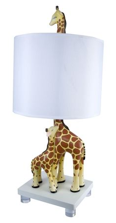 Mother and Baby Giraffe Lamp | Giraffe Lamp via