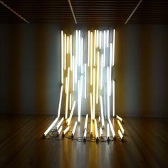 Bill Culbert - Light installation, New Zealand Museum, Wellington