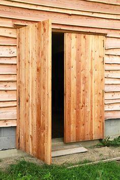 Modřínová vrata
