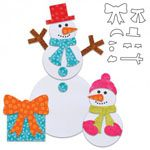 Accuquilt Go! Snowman Accessories - Perfect for Christmas. Have a look at all our Accuquilt Christmas dies