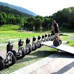 Segway Parcours auf unserem Trainingscenter am Obersalzberg
