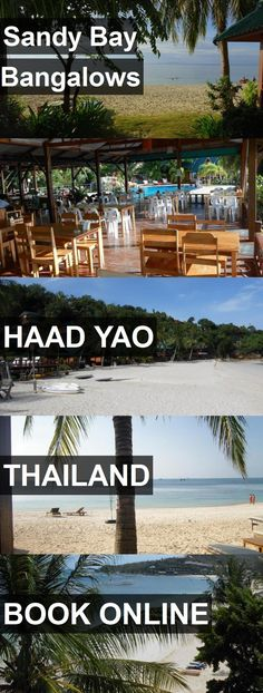 Hotel Sandy Bay Bangalows in Haad Yao, Thailand. For more information, photos, reviews and best prices please follow the link. #Thailand #HaadYao #travel #vacation #hotel